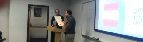 Mayor Eric Papenfuse Proclaims Rick Kearns Harrisburg's New Poet Laureate!