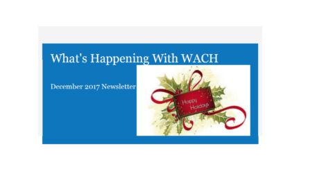 WACH's December Newsletter
