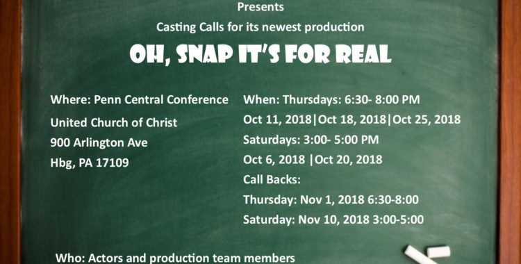 CASTING CALL FOR LOCAL ACTORS/ACTRESSES
