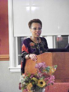 WACH President Joyce Davis